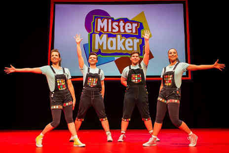 Evolution Productions - Ticket to see CBeebies Mister Maker and The Shapes live - Save 43%