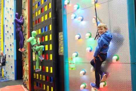 Clip n Climb - Indoor Climbing Session for Child or Adult - Save 25%