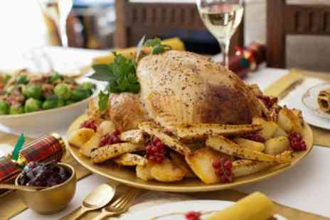 The Sidings - Two Course Festive Meal with Mulled Wine for Two or Four - Save 29%