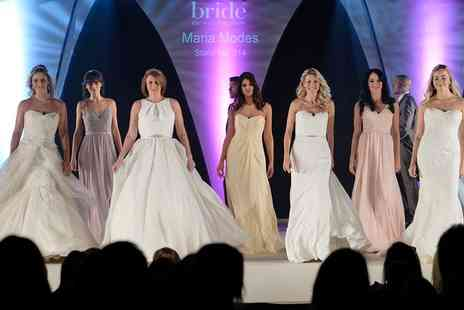 Bride The Wedding Show - Two or Four General Admission Tickets Bride The Wedding Show on 3 or 4 February 2018 - Save 55%