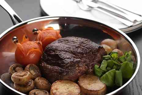 BoVine - Chateaubriand, Prawn Skewers and Sparkling Wine for Two or Four - Save 42%