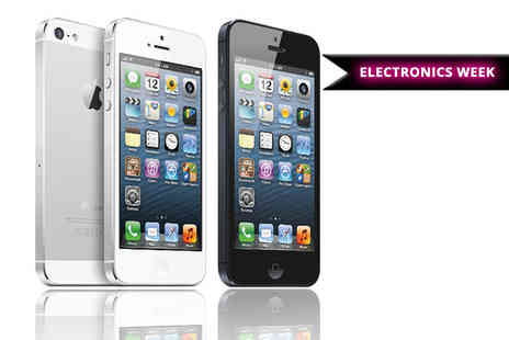 Renew Electronics - 16GB or 32GB Apple iPhone 5  choose from two great colours - Save 34%