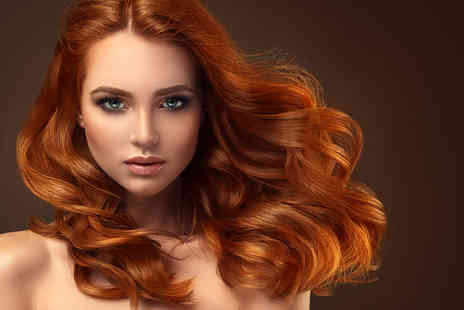 Bella Hair Salon - Half head of highlights with a wash, cut and blow dry or include a full head of highlights - Save 75%