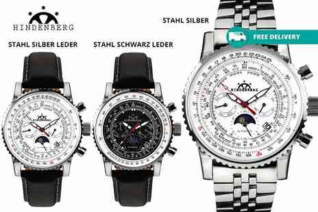 Kendor Van Noah - Hindenburg luxury mens watch choose from five designs plus Delivery Included - Save 87%