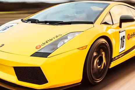 Drift Limits - Lamborghini Experience for One or Two - Save 50%