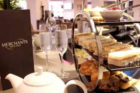 Samlesbury Hotel - Afternoon Tea with a Glass of Bubbly for Two or Four - Save 39%