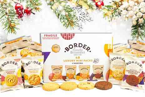 Eurovista2010 - 48 box of Borders Christmas biscuits - Save 70%