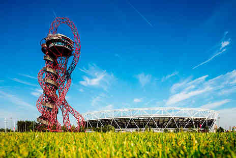 ArcelorMittal Orbit - Entry with a hot drink and cake for one child or one adult - Save 41%