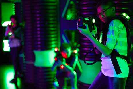 Alvar Karting & Laser Centre - 15 Minute Games of  Laser Tag and Party Room Hire with Refreshments for 10 or 15 - Save 0%