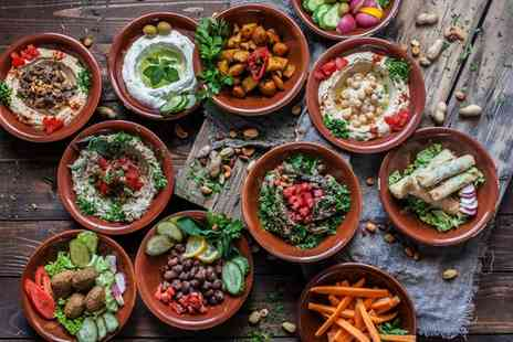 Leila Brasserie - Eight Course Meze for Two or Sixteen Course Meze for Four with Optional Wine - Save 60%