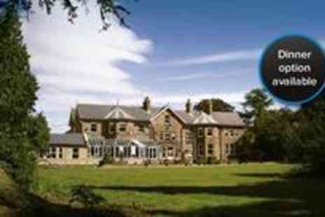 Burn Hall - Two night break for two in Yorkshire, breakfast included and enjoy a 3 course dinner on first night - Save 61%