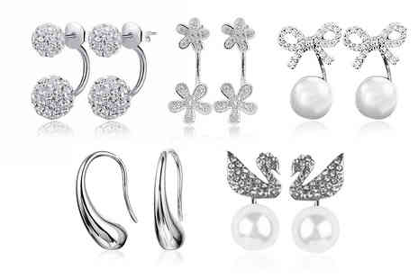 Alvis Fashion - Choice of droplet earrings - Save 93%