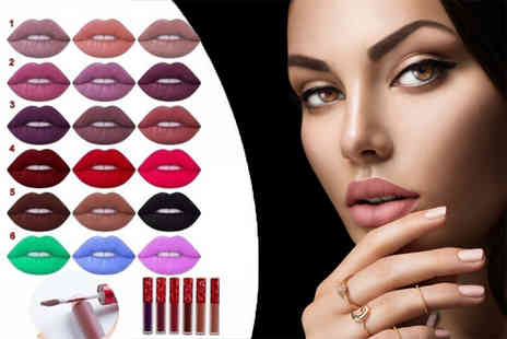 Quickclipin - Three matte finish lipsticks available in six collections - Save 78%