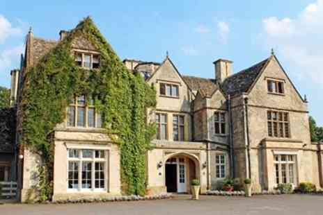 The Greenway Hotel & Spa - Cotswolds manor house stay with meals - Save 0%