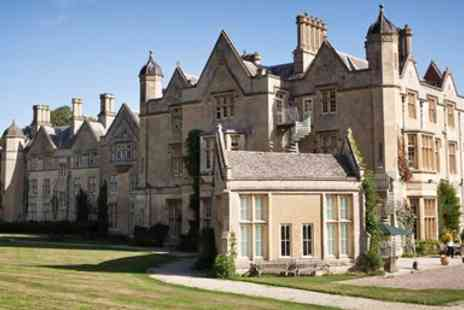 Dumbleton Hall Hotel - Cotswolds manor stay including dinner & drinks - Save 0%