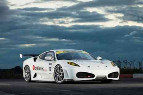 Drift Limits - 14 Lap Ferrari F430 Experience for One or Two - Save 50%