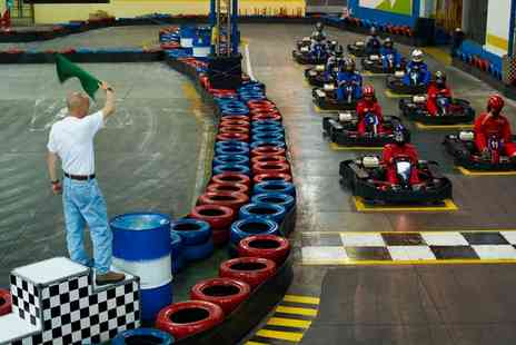Premier Karting - 25 Lap Karting Experience for Up to Six - Save 0%