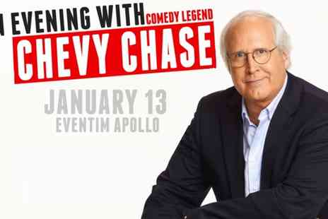 Chevy Chase - One band A, B, C or D ticket to An Evening with Chevy Chase on 13 January - Save 10%