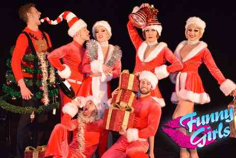 Funny Girls - Two or four VIP tickets to a Funny Girls Christmas Show including a three course meal and a glass of bubbly on 16 November 2017 To 7 January 2018 - Save 52%