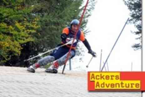 Ackers Adventure Centre - Recreational Dry Skiing or Snowboarding For Family - Save 74%