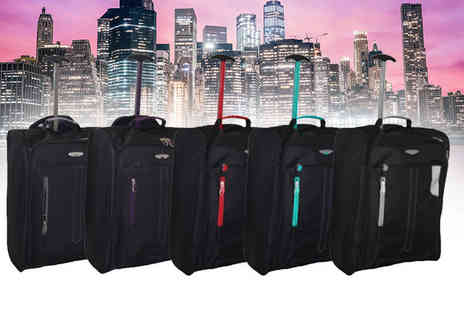 Pearl Info - Cabin approved wheelie hand luggage - Save 81%