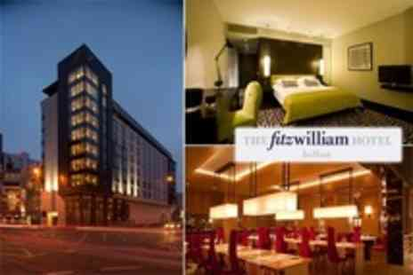 The Fitzwilliam Hotel - One Night Stay For Two With Breakfast - Save 0%