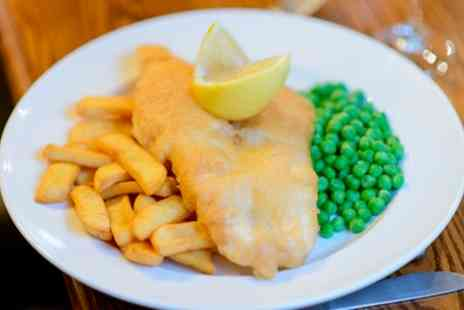The Telford Arms - Fish and Chips with a Pot of Tea for Two or Four - Save 40%