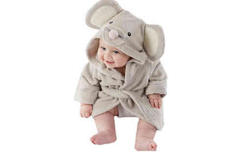 Athena Fashion - Childrens Animal Themed Bathrobes Available in Three Designs - Save 82%