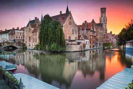 SuperBreak - Three night P&O Minicruise from Hull to Bruges including one night in a Bruges hotel - Save 0%