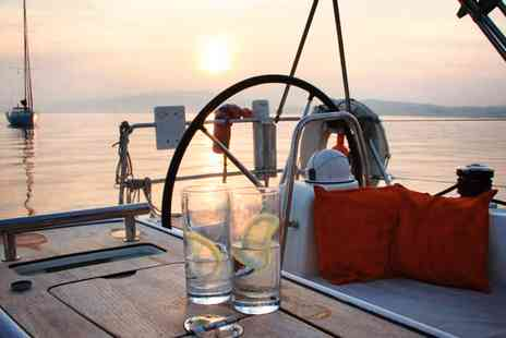 Escape Yachting - Hampshire summer yacht trip including meal & bubbly - Save 34%