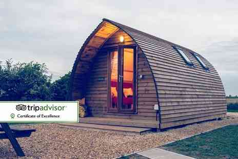 Wigwam Holidays Crowtree - Two or three night heated wigwam stay for up to four people and two dogs - Save 0%