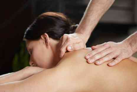Hay's Hair Co - Back, Neck and Shoulder Massage with an Optional Classic Manicure - Save 36%