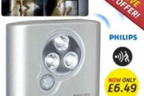 Led Hut - Exclusive Email Offer Philips Motion Sensored LED Light - Save 70%