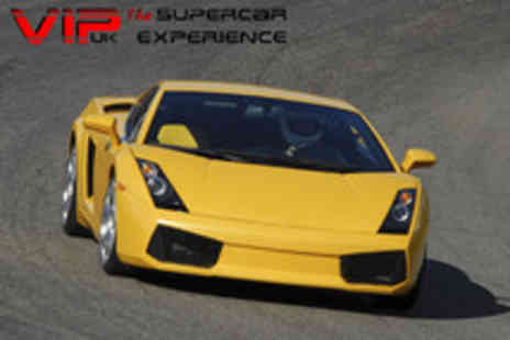 VIP UK Experience Days - 8 lap super car & touring car experience - Save 82%