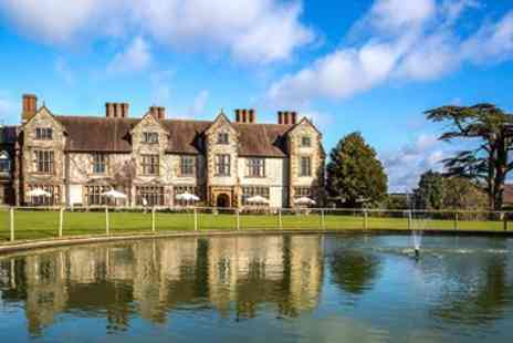 The Billesley Manor Hotel - Warwickshire manor escape with meals - Save 0%