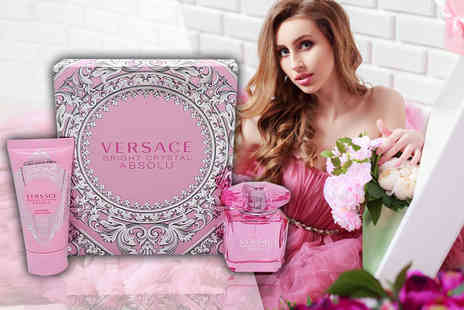 Deals Direct - Versace Bright Crystal Absolu gift set - Save 0%