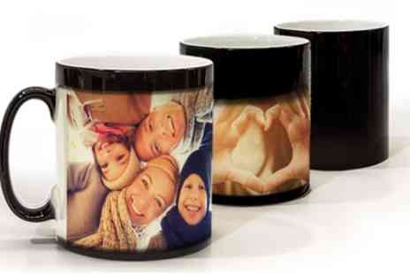 Printerpix - Up to Three Personalised Photo or Magic Mugs - Save 57%