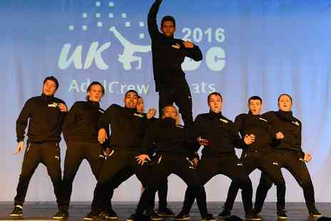 UK Street Dance Championships - Early Session or Evening Session Ticket to UK Street Dance Championships 2017 - Save 50%