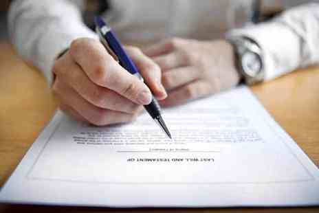 Active Wills - Single will writing service or mirror will writing service - Save 86%