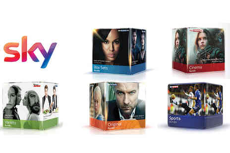 Campbell & Kennedy - 18 month Sky Q TV bundle with a £30 Tesco voucher - Save 0%