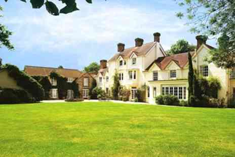 Esseborne Manor Hotel - Hampshire manor house stay with dinner - Save 43%