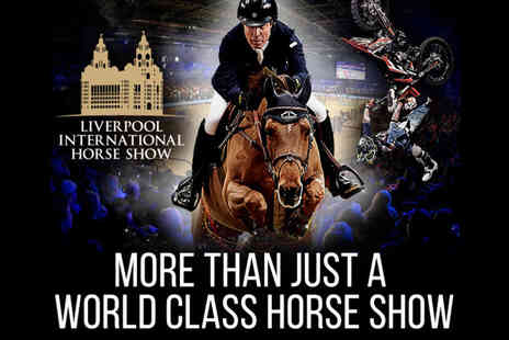 Bolesworth Events - Child, adult or VIP box ticket to The Liverpool International Horse Show - Save 57%