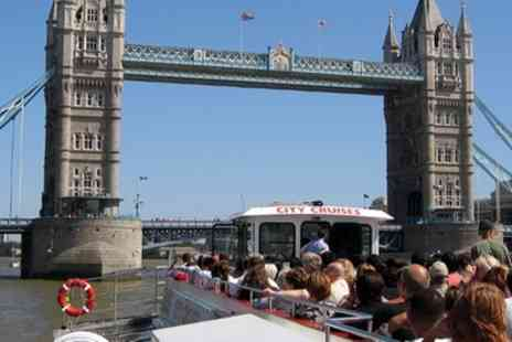 City Cruises PLC - Thames River Red Rover Three Day Pass for a Child or Adult, Choice of Locations - Save 50%