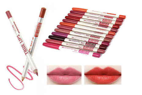 Alvis Fashion - 12 true matte lip liners - Save 80%