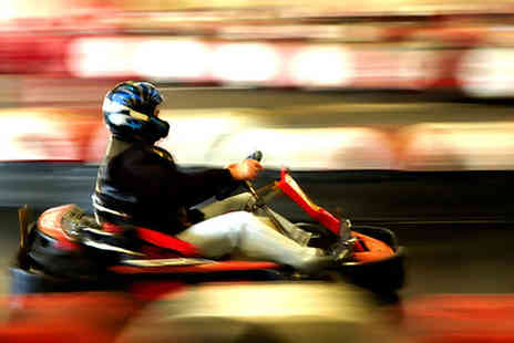 Raceway Karting - One hour academy coaching and racing session with former British racing champion Ayrton Hirst - Save 67%