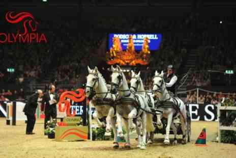The London International Horse Show - One ticket to The London International Horse Show on 12 To 18 December - Save 50%