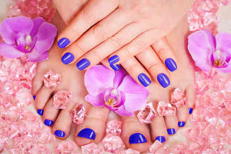 Vanessas Beauty & Nails Lounge - Shellac manicure & pedicure - Save 44%