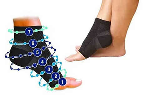 Alvis Fashion - Ankle compression sock - Save 84%