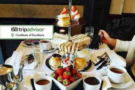 Best Western Plus Craiglands Hotel - Festive or Champagne afternoon tea for two - Save 0%
