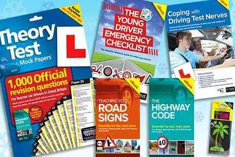 eOutlet - Driving test 2017 or 18 edition bumper pack - Save 79%